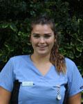 Connie Harrop, nurse at Townsend Veterinary Practice