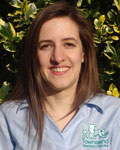 Helen Young, receptionist at Townsend Veterinary Practice