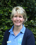 Sandra Linford, support team at Townsend Veterinary Practice